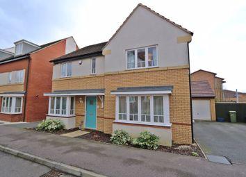 Thumbnail 4 bedroom detached house to rent in Sakura Walk, Willen, Milton Keynes