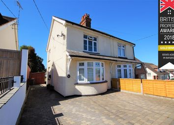 Thumbnail 2 bed semi-detached house for sale in Love Lane, Rayleigh