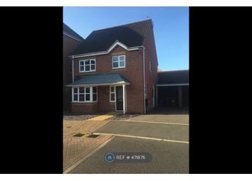 Thumbnail 3 bed detached house to rent in Hevea Road, Burton-On-Trent