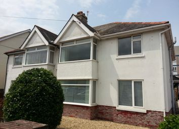 Thumbnail 2 bed flat to rent in Eugene Road, Paignton