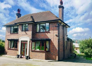 Thumbnail 4 bed equestrian property for sale in Buxton Road, Blackshaw Moor, Leek