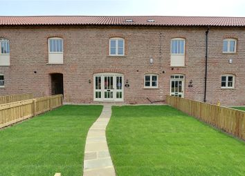 Thumbnail 4 bed terraced house for sale in Enholmes Farm, Patrington, East Yorkshire