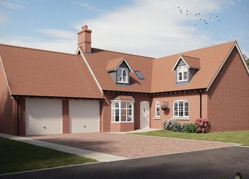 Thumbnail 4 bed detached house for sale in The Shugborough V, Millbrook Grange, Cottingham Drive, Moulton