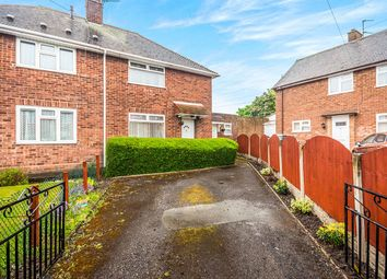 Thumbnail 2 bed semi-detached house for sale in Moat Green Avenue, Wednesfield, Wolverhampton