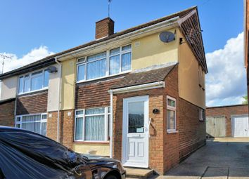 Thumbnail 3 bed semi-detached house for sale in St. Marys Crescent, Staines-Upon-Thames