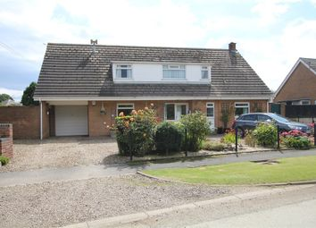 Thumbnail 4 bed detached bungalow for sale in Freeholme Lodge, Northside Road, Hollym, East Riding Of Yorkshire
