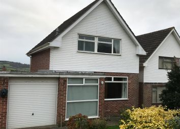 Thumbnail 3 bed semi-detached house to rent in Riverview Drive, Colyton