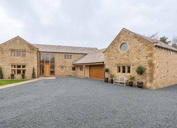 Thumbnail 4 bed detached house for sale in Home Farm, Wilshaw, Holmfirth