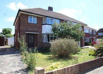 Thumbnail 3 bed semi-detached house to rent in Branston Crescent, Petts Wood, Orpington