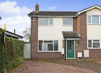 Thumbnail 3 bedroom semi-detached house for sale in Grenville Close, Haslington, Crewe