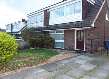Thumbnail 3 bed semi-detached house to rent in Worsborough Avenue, Great Sankey