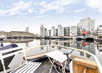 Thumbnail 1 bedroom houseboat for sale in Boardwalk Place, London