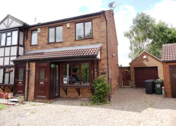 Thumbnail 2 bed semi-detached house for sale in Wedgewood Grove, Lincoln
