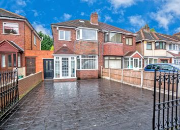 Thumbnail 4 bed semi-detached house for sale in Lichfield Road, Wednesfield, Wolverhampton