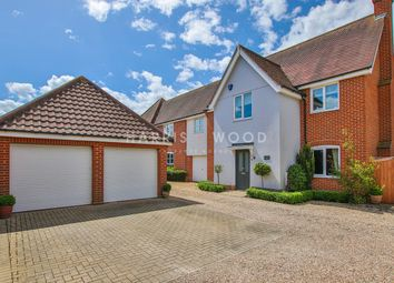 Thumbnail 4 bed link-detached house for sale in Hale Way, Colchester