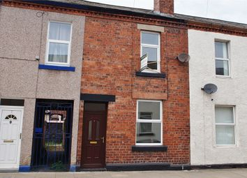 Thumbnail 3 bed terraced house for sale in Lindisfarne Street, Off London Road, Carlisle, Cumbria