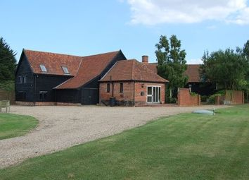 Thumbnail 5 bedroom barn conversion for sale in Low Road, Debenham, Stowmarket
