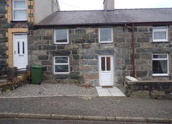 Thumbnail 3 bed terraced house for sale in Bodawen Terrace, Rhostryfan, Caernarfon