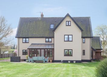 Thumbnail 6 bed detached house for sale in Drury Lane, Carbrooke, Thetford