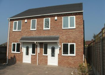Thumbnail 2 bed semi-detached house to rent in Fowler Avenue, Spondon, Derby