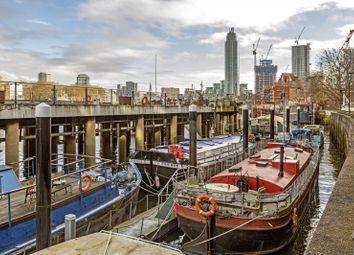 Thumbnail 3 bed houseboat for sale in Nine Elms Pier Tideway Walk, Nine Elms