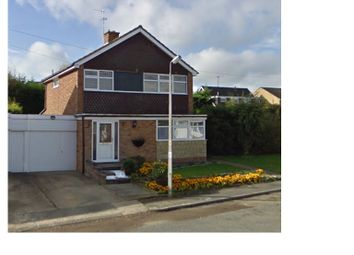 Thumbnail 3 bedroom detached house for sale in Loseby Close, Rushden
