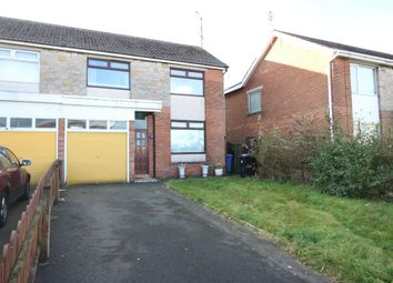 Thumbnail 4 bed semi-detached house for sale in Marquis Rise, Bangor