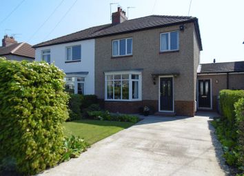 Thumbnail 3 bedroom semi-detached house for sale in Barns Road, Warkworth, Morpeth