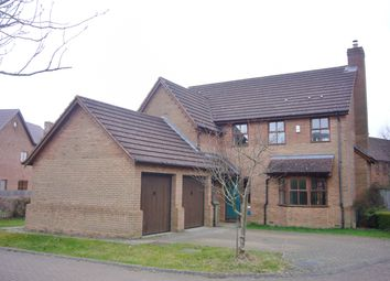 Thumbnail 4 bedroom detached house to rent in Menzies Court, Shenley Lodge, Milton Keynes