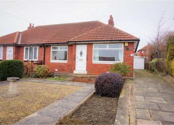 Thumbnail 2 bed semi-detached bungalow for sale in Pinfold Mount, Leeds
