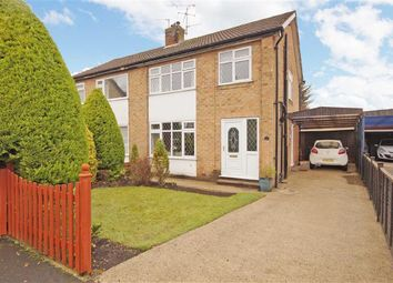 Thumbnail 3 bed semi-detached house to rent in Knox Grove, Harrogate, North Yorkshire