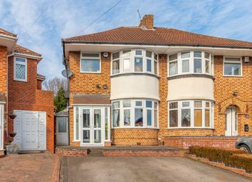 Thumbnail 3 bed semi-detached house for sale in Hanson Grove, Solihull