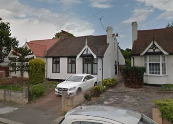 Thumbnail 3 bed semi-detached bungalow to rent in Meadway, Seven Kings, Essex