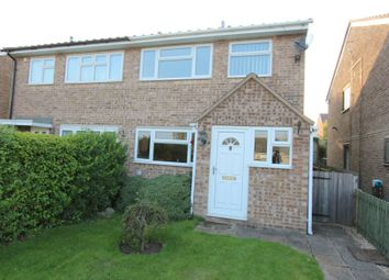 Thumbnail 3 bed semi-detached house for sale in Sherrard Close, Whissendine, Oakham
