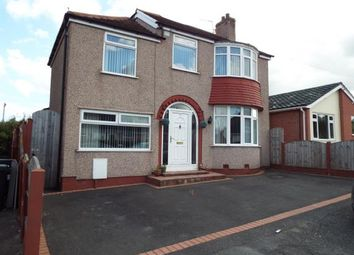 Thumbnail 4 bed detached house for sale in Manor Drive, Flint, Flintshire