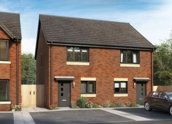 Thumbnail 2 bed semi-detached house for sale in Lancaster Avenue, Tyldesley, Manchester
