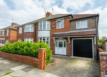 Thumbnail 5 bed semi-detached house for sale in The Garlands, Rawcliffe, York