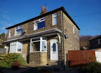 Thumbnail 2 bed semi-detached house for sale in Woodroyd Gardens, Luddenden Foot, Halifax