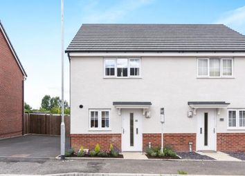 Thumbnail 2 bed semi-detached house for sale in Laxton Crescent, Evesham, Worcestershire, .
