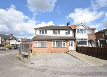 Thumbnail 4 bed semi-detached house for sale in Chesford Road, Luton