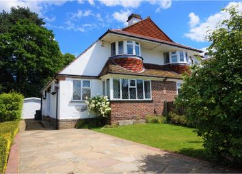 Thumbnail 3 bedroom semi-detached house for sale in Willett Way, Orpington