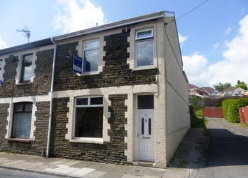 Thumbnail 3 bed end terrace house for sale in Meyler Street, Thomastown, Porth