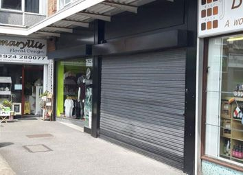 Thumbnail Retail premises to let in Two Retail Units, Towngate, Ossett