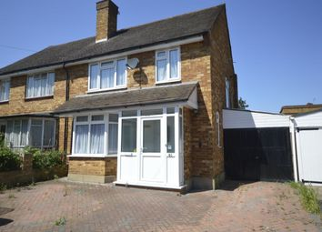 Thumbnail 3 bed semi-detached house for sale in Eastlea Avenue, Watford