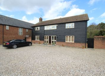 Thumbnail 4 bed detached house for sale in Oldbury Fields, Cherhill, Calne