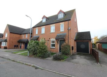 Thumbnail 3 bed town house for sale in Winwood Close, Deanshanger, Milton Keynes