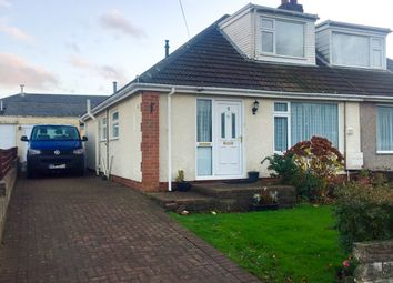 Thumbnail 3 bed semi-detached bungalow for sale in St Johns View, St Athan, Barry