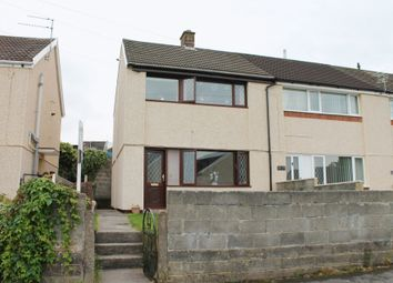 Thumbnail 2 bed semi-detached house to rent in Moorland Crescent, Beddau, Pontypridd