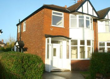 Thumbnail 3 bed semi-detached house to rent in Chestnut Drive, Sale, 4Hl.
