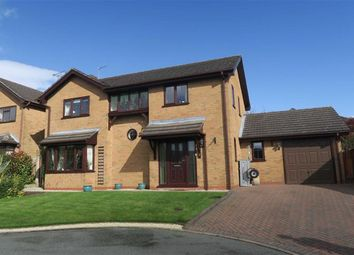 Thumbnail Detached house for sale in Tennyson Close, Cheadle, Stoke-On-Trent